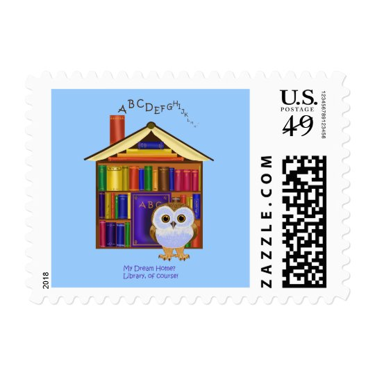 Dream Home – Library! Postage