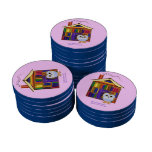 Dream Home – Library! Set Of Poker Chips