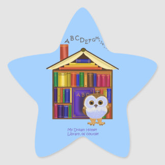 Dream Home – Library! Star Sticker