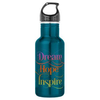 Dream Hope Inspire 18oz Water Bottle