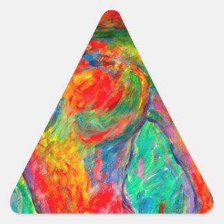 Dream Horse Triangle Sticker