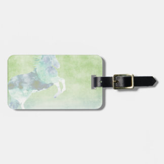 Dream Horse:  Watercolor horse cloud theme Luggage Tag