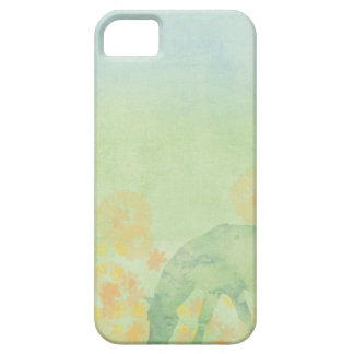 Dream Horse: Watercolor horse in green meadow iPhone SE/5/5s Case