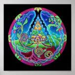 Dream House Mandala Print