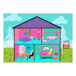 Dream House Real Estate Business Cards