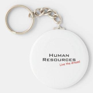 Dream / Human Resources Basic Round Button Keychain