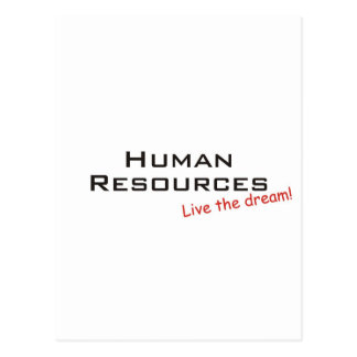 Dream / Human Resources Postcard