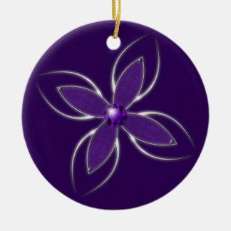 Dream in Amethyst Ornament