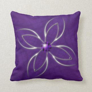 Dream in Amethyst Pillow