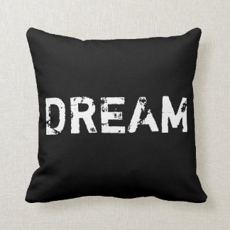 Dream in Black and White Pillow