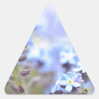 Dream in Blue Triangle Sticker