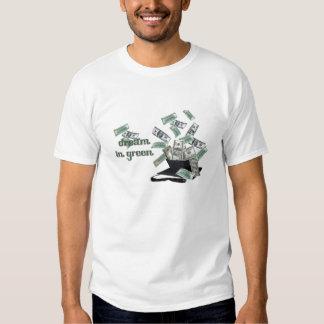 Dream In Green Shirt