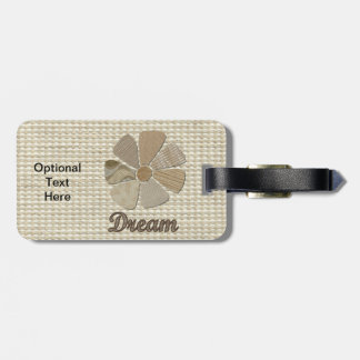 Dream Inspiration Collage Travel Bag Tags