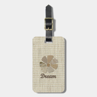 Dream Inspirational Collage Bag Tags