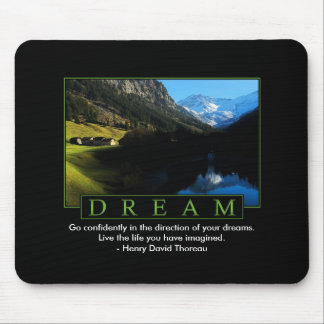 Dream Inspirational Mouse Pad