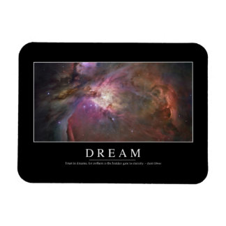 Dream: Inspirational Quote Flexible Magnets