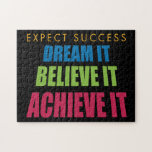 Dream It and Achieve It Jigsaw Puzzle