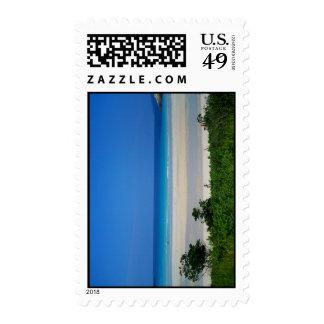 Dream it, Live it Beach 4 Postage Stamp