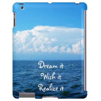 Dream it wish it Realize it quote sea design