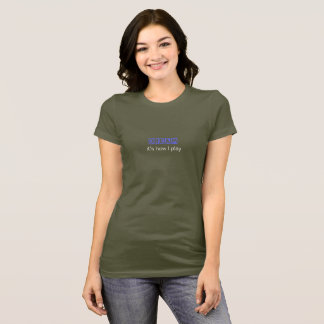 Dream: it's how I play (front only) T-Shirt