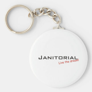 Dream / Janitorial Keychain
