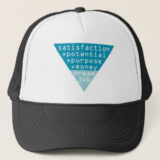 dream job formula trucker hat
