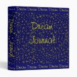 Dream Journal Binder
