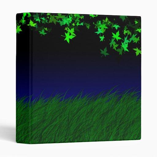 Dream Journal. Personalize (Green) Binders