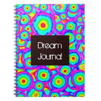 Dream journal spiral note book