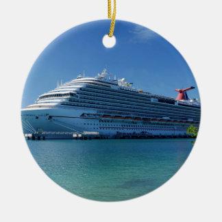 Dream.JPG Double-Sided Ceramic Round Christmas Ornament