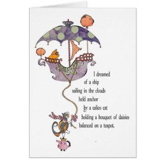 Dream Kitty Card