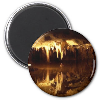 Dream Lake 2 Inch Round Magnet