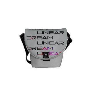 Dream Linear Logo Messenger Bag