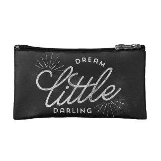 Dream Little Darling Chalkboard Makeup Bags