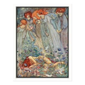 Dream-Love by Florence Harrison Postcard