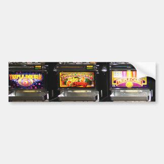 Dream Machines - Lucky Slot Machines Bumper Sticker