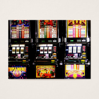 Dream Machines - Lucky Slot Machines Business Card