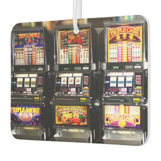 Dream Machines - Lucky Slot Machines Car Air Freshener