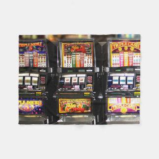 Dream Machines - Lucky Slot Machines Fleece Blanket