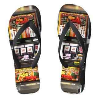Dream Machines - Lucky Slot Machines Flip Flops