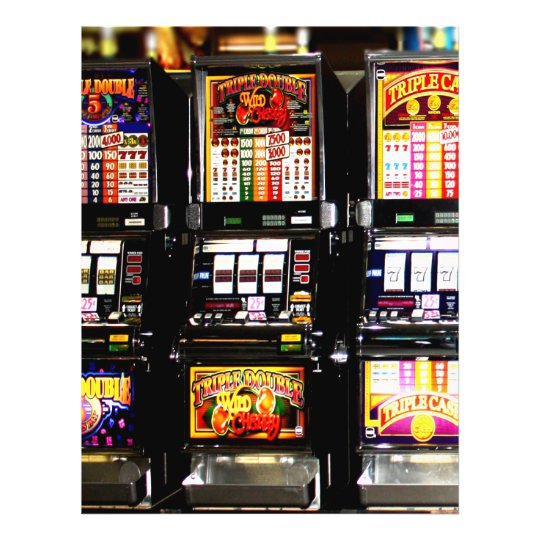 Dream Machines - Lucky Slot Machines Flyer