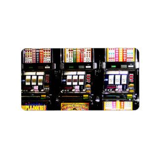 Dream Machines - Lucky Slot Machines Label