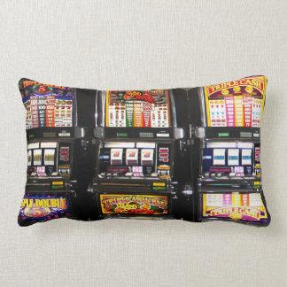 Dream Machines - Lucky Slot Machines Lumbar Pillow