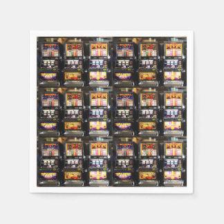 Dream Machines - Lucky Slot Machines Standard Cocktail Napkin