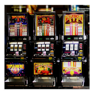 Dream Machines - Lucky Slot Machines Poster