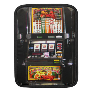 Dream Machines - Lucky Slot Machines Sleeve For iPads