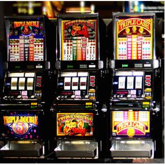 Dream Machines - Lucky Slot Machines Standing Photo Sculpture