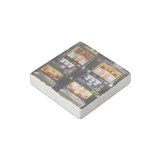 Dream Machines - Lucky Slot Machines Stone Magnet