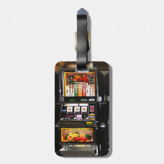 Dream Machines - Lucky Slot Machines Tag For Luggage