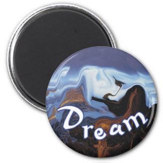 Dream 2 Inch Round Magnet